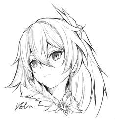 Anime Character Drawing, Manga Drawing, Character Art, Anime Drawings Sketches, Anime Sketch, Kawaii Anime Girl, Anime Art Girl, Anime Lineart, Anime Expressions