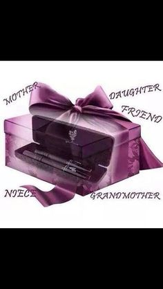 Give a gift of love... Give her our best seller our 3d Fiber mascara visit my site at www.youniqueproducts.com/LauraRomeo