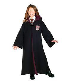 Look at this #zulilyfind! Black Gryffindor Deluxe Robe - Kids by Harry Potter #zulilyfinds