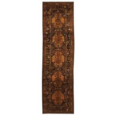 Herat Oriental Afghan Hand-knotted Tribal Balouchi Runner