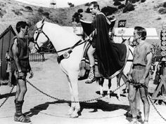 Spartacus (1960), Tony Curtis, Laurence Olivier, Kirk Douglas