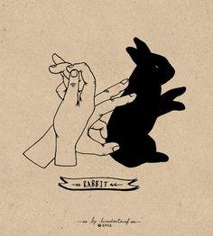 Hands Shadows by Lara Mendes