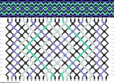 Muster # 63331, Streicher: 26 Zeilen: 14 Farben: 4