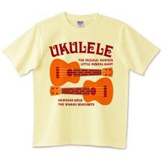 ウクレレ | デザインTシャツ通販 T-SHIRTS TRINITY(Tシャツトリニティ)