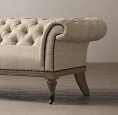 6' Islington Chesterfield Upholstered Sofa
