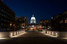 State Capitol. Madison, Wisconsin.
