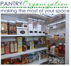 Making the Most of Your Pantry ~ Organize Your Kitchen Frugally Day 28