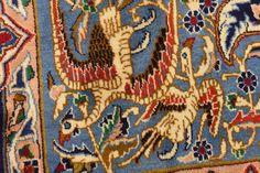 Navy Blue 9' 9 x 13' Kashmar Persian Rug   Persian Rugs   iRugs UK