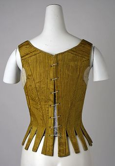 Corset  Date: early 18th century Culture: Spanish Medium: silk Dimensions: [no dimensions available] Credit Line: Gift of Mr. Claggett Wilson, 1946 Accession Number: C.I.46.59.3