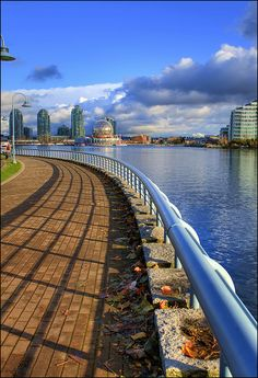 False Creek in Vancouver, Canada