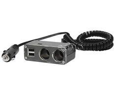 Universalstecker 2-fach 5V, 500mA, 20cm Kabel - Art.-Nr. 81323