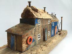 Fishermans Cottages por kirstyelson en Etsy