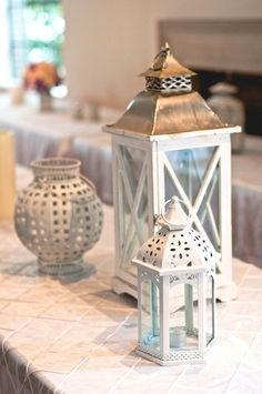 lanterns used together so cute