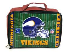 Minnesota Vikings Team Logo Lunch Bag by Pro Specialties. $8.99. NFL Minnesota Vikings Team Logo Lunch Bag. Save 10% Off!