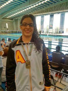 Primeras medallas en la ON 2016 para Aguascalientes en natación ~ Ags Sports