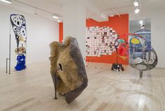 Receivers and Transmitters: Michelle Segre`s Recent Sculpture, Installation shot