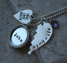 Hand stamped army wife