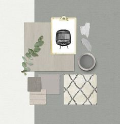 A moodboard is always an inspiration to interior design! Mood Board Interior, Interior And Exterior, Interior Design, Material Board, Decorative Panels, Maker, Colour Schemes, Colour Board, Decoration