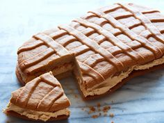Just like your favorite Nutter Butter cookie -- only bigger and better! Invite all of the peanut butter fanatics in your life over to share.