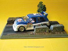 Diorama Rally for Slot Car #rally  #slot #slotcar #diorama #modeling #scalextric #ninco #carrera #scx