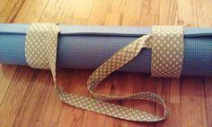 DIY Yoga mat strap using Velcro