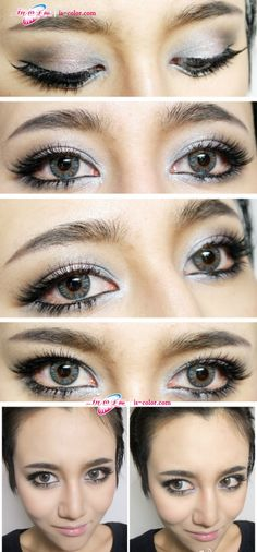 NEO Vision 4-Tone Cosmetic Contact Lenses    SHOP >> http://www.eyecandys.com/clover-4-tone-series-14-2mm/