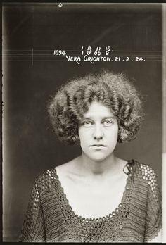 Dans les ann 233 es 1920 photo police sydney australie mugshot 1920 24