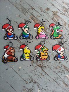 Ornements de Noël de Mario