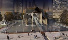 Christchurch Cathedral 'A Third Way' Walker Group Architects
