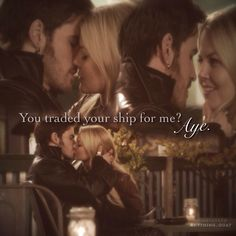 "3x22 ""You traded your ship for me?"" #CaptainSwan"