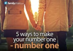 5 ways to make your number one — number one
