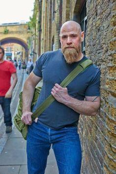 Beard styles 830280881281458920 - Marry me,please! Source by nakedarmorazors - Beard styles 830280881281458920 – Marry me,please! Source by nakedarmorazors - Bald Head With Beard, Bald Men With Beards, Bald Man, Long Beards, Hairy Men, Bearded Men, Beard Bald, Man Beard, Viking Beard Styles