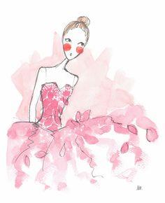 Noomie, Ballet News Illustrated - Noemi Manalang