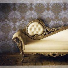 K & K Designs Obsession (547-2) behang accentmuur slaapkamer