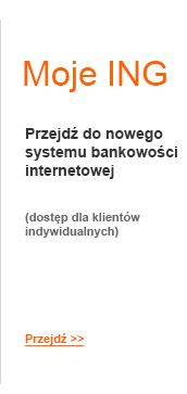 Logowanie do bankowości internetowej ING Banku Śląskiego