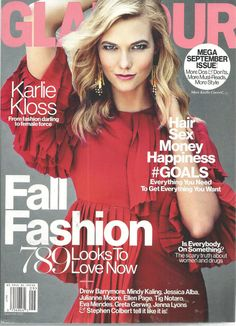 Karlie Kloss Glamour Magazine September 2015 Fall Fashion  #CondeNast