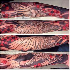 Sacred Tattoo in Kingsland - Hamish M - Kea in progress