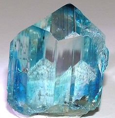 Euclase, BeAlSiO4(OH). Locality: Equador, Borborema mineral province, Rio Grande…