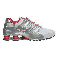 sports shoes c080c 4c170 Nike Shox NZ Womens Shoes WhiteEmber GlowMetallic Silver 636088102 11 BM US    You can get