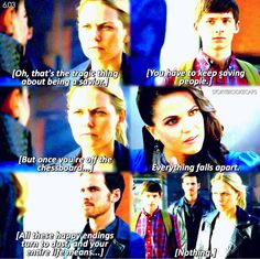 """Emma, Henry, Killian and Evil Queen - 6 * 3 """"The Other Shoe"""""""