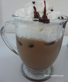 You can make this yummy drink at home with International Delight Iced Coffe AND save a ton of money!