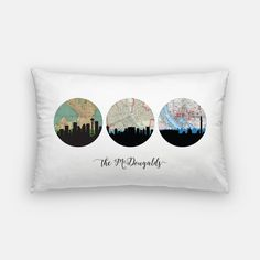 Choose Your Own Adventure pillow custom by PaperFinchDesign