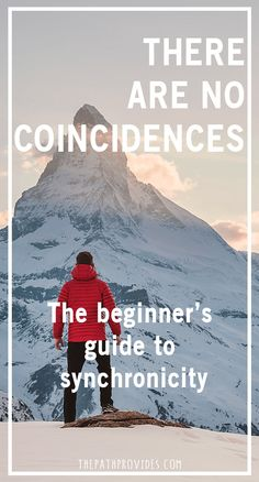 There are no coincidences Synchronicity Synchronicities Universe