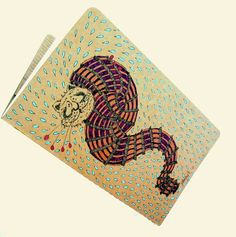 DISCOUNTSoriano Cats OOAK hand drawn moleskine by gufobardo, €30.00
