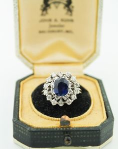 Princess Diana Cocktail Ring ~ Fine Jewelry Engagement Rings   Salisbury, MD   Kuhn's Jewelers