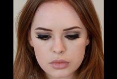 Tanya Burr. Lana Del Rey Make-up.