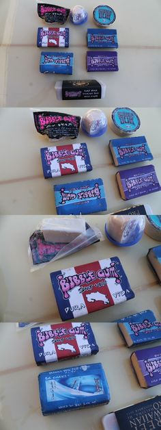 Wax 71166: Bubble Gum Surf Wax Vintage Surfboard Wax Lot Of 8 Rare Bars Of Surf Wax -> BUY IT NOW ONLY: $39 on eBay!