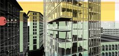 Urban Abstract Illustration | Visualizing Architecture
