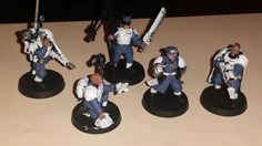 Mein Command Squad WIP #AstraMilitarum #Warhammer 40k #Tabletop #Kazaij