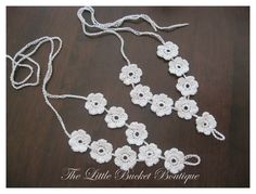 Little Bucket Creates: Crocheted Barefoot Sandals